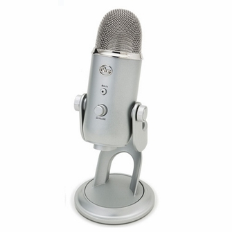 Blue Microphones Yeti Ultimate USB Mic for Professional Recording (YETI1950SLV)<!--YETI1950SLV-->