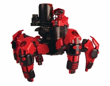 Combat Creatures Attacknid MK1 Battling Spider Toy Robot with Remote Control, Ultra Controllable Disc-Firing Weapon System, 6-Legged Robotics with Advanced All-Terrain Handling