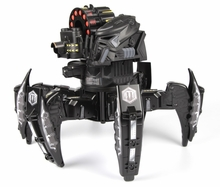 Combat Creatures Attacknid Stealth Stryder Battling Spider Toy Robot with App-Controlled Bluetooth Battle Brain, Ultra Controllable Dart Blaster Weapon System, 6-Legged Robotics with Advanced All-Terrain Handling