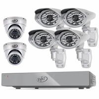 CONNECTED� 8CH H.264 1 TB Smart Security DVR  with 4 Ultra cams /2 Dome Cameras and Smart Phone Compatibility<!--11187-->