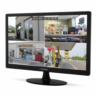 Defender 24 inch Super Slim High Resolution LED Monitor with Stand & VESA Mount Compatibility<!--21194-->