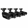 Defender 4 Hi-Res Outdoor 75ft Night Vision Security Cameras - 21002