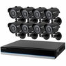 Defender� BlueLine� 16CH Security DVR with 500GB of Storage Including 8 Surveillance 600TVL Cameras with 75ft Long-Range Night Vision and Remote Smart Phone Viewing