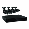 Defender Connected 4CH H.265 500GB Smart Security DVR with 4 x 480TVL 75ft Night Vision Indoor/Outdoor Cameras - 21020