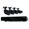 Defender Connected 8CH H.265 500GB Smart Security DVR with 4 x 480TVL 75ft Night Vision Indoor/Outdoor Cameras - 21022