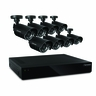 Defender Connected 8CH H.265 500GB Smart Security DVR with 8 x 480TVL 75ft Night Vision Indoor/Outdoor Cameras - 21023