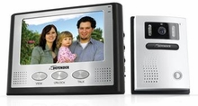 "Defender GK300-7M2 Hands Free 2-Wire Color Video Intercom Surveillance System with 7"" LCD Monitor & Outdoor Night Vision Security Camera"