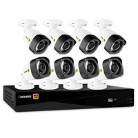 Defender� HD 1080p 16 Channel 2TB Digital Video Recording Security System and 8 Long Range Night Vision Bullet Cameras with Web and Mobile Viewing<!--HD2T16B8-->