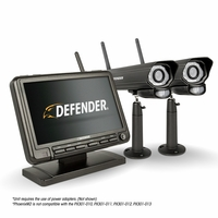 "Defender� PHOENIXM2 Digital Wireless 7"" Monitor DVR Security System with 2 Long Range Night Vision Cameras and SD Card Recording<!--PHOENIXM22C-->"
