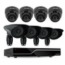 Defender PRO Sentinel 8CH H.264 1 TB Smart Security DVR  with 4 PRO/4 Dome Cameras and Smart Phone Compatibility (21133)