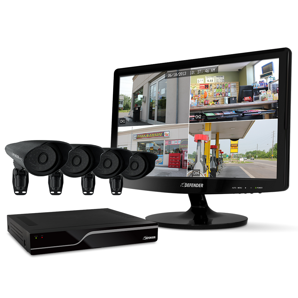 Wireless home security camera system Lorex by FLIR