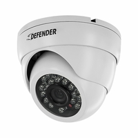 Defender Pro Single 800TVL Ultra High Resolution Widescreen Indoor/Outdoor Dome Security Camera (21318)<!--21318-->