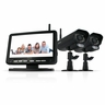 "Defender PX301-011 Digital Wireless DVR Security System with 7"" LCD Monitor, SD  Card Recording and 2 Long Range Night Vision Surveillance  Cameras"