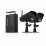 Defender PX301-013 Digital Wireless DVR Security System Receiver with SD Card  Recording and 2 Long Range Night Vision Surveillance Cameras