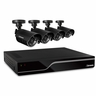 Defender Sentinel 4CH H.265 500GB Smart Security DVR with 4 x 480TVL 75ft Night Vision Indoor/Outdoor Cameras - 21026