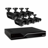 Defender Sentinel 8CH H.265 500GB Smart Security DVR with 8 x 480 TVL 75ft Night Vision Indoor/Outdoor Cameras - 21029