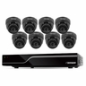 Defender Sentinel 8CH Smart Security System with 500GB DVR & 8 Indoor/Outdoor Dome Cameras with 600TVL and 65' Night Vision (21064)