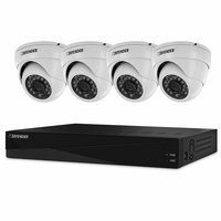Defender Sentinel Pro Widescreen 8CH Security DVR with 2TB HDD Including 4 Surveillance 800TVL Cameras with 75ft Night Vision<!--21325-->