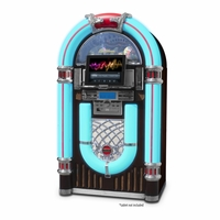 Electrohome Kinsman Jukebox with CD Player, FM Radio, USB & SD Playback and MP3 Input (EAJUK500)<!--EAJUK500-->