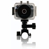 Emerson HD Action Cam for Active Filming with 720p, 5.0 MP and 4x Digital Zoom