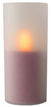 Flameless LED Pillar Candle with Realistic Flickering and Glowing