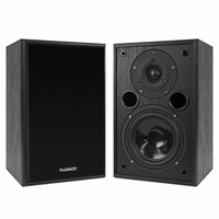 Fluance AV5 Powerful & Dynamic Two-way Bookshelf Speakers for Home Theater & Music Systems<!--AV5-->