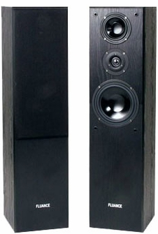 Fluance AVFR Dynamic Compact Three-way Hifi Speakers<!--AVFR-->