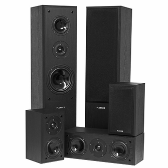 Fluance AVHTB+ Surround Sound Home Theater 5 Speaker System<!--AVHTB-->