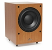 Fluance DB150-BE 10 Inch 150 Watt Low Frequency Powered Subwoofer-Natural Beech