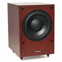 Fluance DB150-MA 10 Inch 150 Watt Low Frequency Powered Subwoofer-Mahogany<!--DB150-MA-->