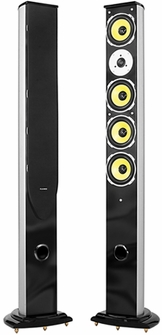 Fluance ES1 Higher Fidelity Two-way Floorstanding Pillar Speakers<!--ES1-->
