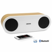 Fluance FI30 High Performance Wireless Bluetooth Wood Speaker System with aptX Enhanced Audio-Bamboo<!--FI30-BW-->