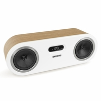 Fluance Fi50B Two-Way High Performance Wireless Bluetooth Premium Wood Speaker System with aptX Enhanced Audio (Lucky Bamboo)<!--FI50B-->