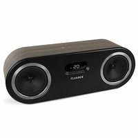 Fluance Fi50B Two-Way High Performance Wireless Bluetooth Premium Wood Speaker System with aptX Enhanced Audio (Natural Walnut)<!--FI50B-->