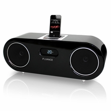 Fluance FiSDK500 Two-way High Performance Wood Speaker Dock Music System for iPod/iPhone