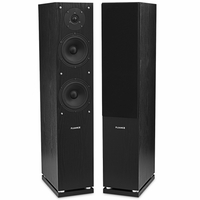 Fluance High Definition Two-way Floorstanding Main Speakers - Black (SXHTBFR-BK)<!--SXHTBFR-BK-->