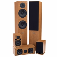 Fluance SXHTB+ 5 Speaker Surround Sound Home Theater System<!--SXHTB-->