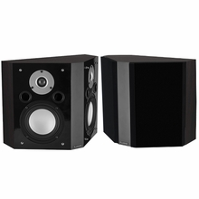 Fluance XLBP-DW Wide Dispersion Bipolar Surround Sound Speakers for Home Theater -XLBP-DW