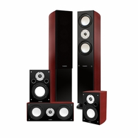 Fluance XLHTB High Performance 5 Speaker Surround Sound Home Theater System<!--XLHTB-->
