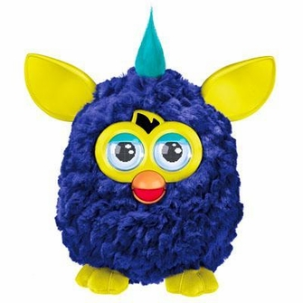Furby - Blue and Yellow<!--FURBYBLUEYELLOW-->