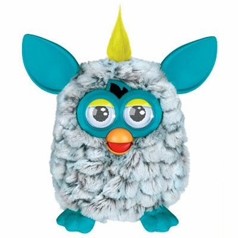 Furby - Grey and Teal<!--FURBYGREYTEAL-->