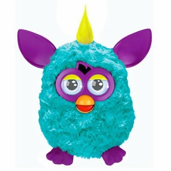 Furby - Teal and Purple<!--FURBYTEALPURPLE-->