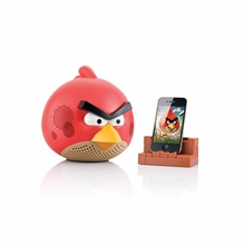 Gear4 Angry Birds Red 2.1 Speaker for iPod, iPhone, iPad, MP3 Players, Smartphones and Tablets - PG542CAN