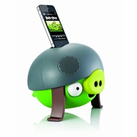 Gear4 Helmet Pig Angry Birds iPod & iPhone Speaker Dock (PG543G)<!--PG543G-->