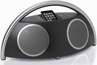 Harman Kardon GO + PLAY II Portable Loudspeaker Dock for iPod and iPhone - HKGOPLAY2BLKAM<!--HKGOPLAY2BLKAM-->