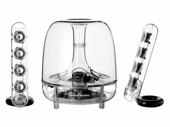 Harman Kardon Soundsticks III 2.1 Channel Multimedia Speaker System with Subwoofer - SOUNDSTICKS3AM<!--SOUNDSTICKS3AM-->