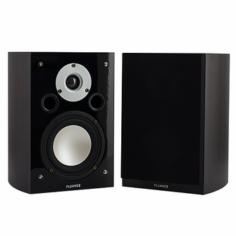 High Performance Two-way Bookshelf Surround Sound Speakers - Dark Walnut (XL7S-DW)<!--XL7S-DW-->