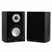 High Performance Two-way Bookshelf Surround Sound Speakers - Dark Walnut (XL7S-DW)