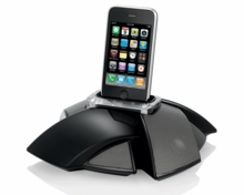 JBL On Stage IV Portable Loudspeaker Dock for iPod and iPhone (JBLOS4BLKAM)