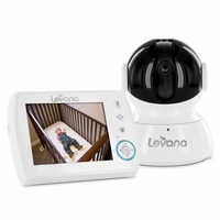 Levana Astra 3.5 inch PTZ Digital Baby Video Monitor with Talk to Baby Intercom (32006)<!--32006-->